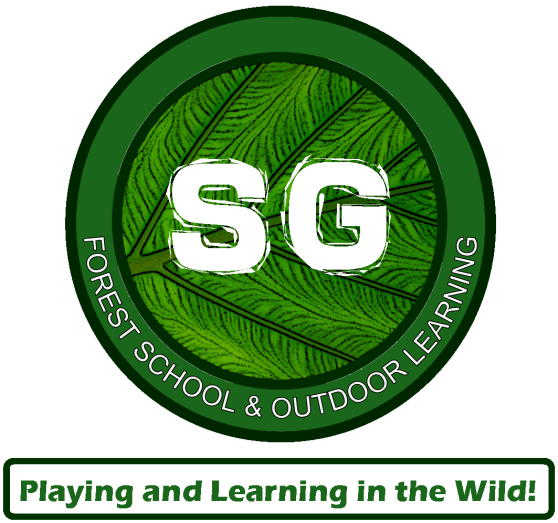 SG FOREST SCHOOL LOGO 2020 & TAG LINE VERTICAL
