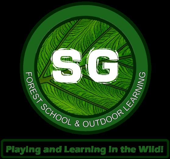 SG FOREST SCHOOL LOGO 2020 & TAG LINE VERTICAL